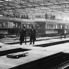 South Shields tram car sheds