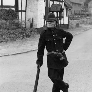 Man dressed as a Victorian policeman