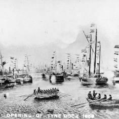 Opening of Tyne Dock