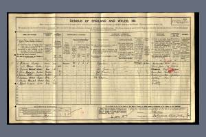 1911 Census - 20 Carwell Street, Tooting