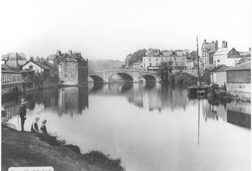 Exe Bridge, c1900, Exeter