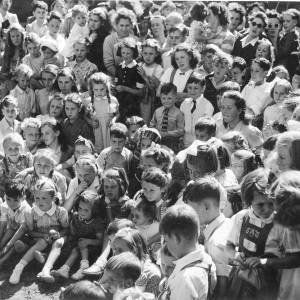 Group photograph of children