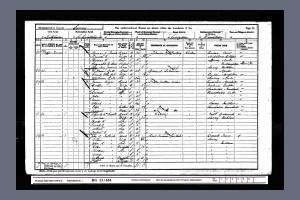 1911 Census - 24 Phipps Terrace, Mitcham