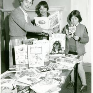 Mrs Paice, Ledbury Library, 1980s