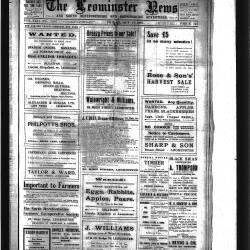 Leominster News - October 1922