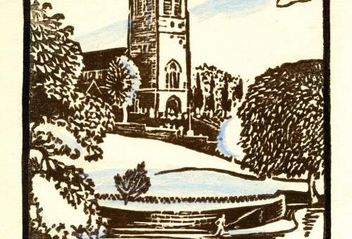 Lymm Church by Dorothea Rowlinson