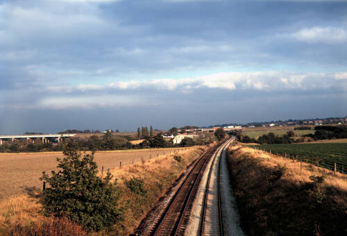 Thelwall Viaduct: panorama