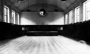 Wimbledon County School for Girls: School Hall