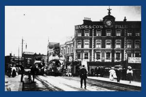 Broadway, Wimbledon:  Bridge over Railway