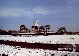 The windmill in winter