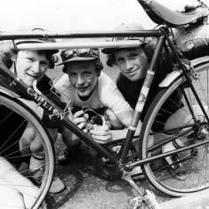 Cyclists in Hebburn