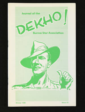 DEKHO! The Journal of The Burma Star Association - Issue No. 087, Year 1980