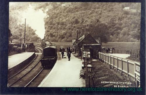 Kerne Bridge Station, near Ross-on-Wye, 1910