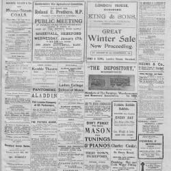 Hereford Journal - January 1917