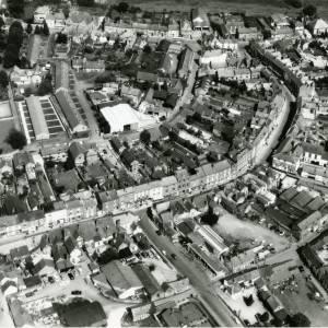 Bromyard, aerial view