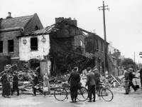 Bomb Damage to Wimbledon Tyre Company