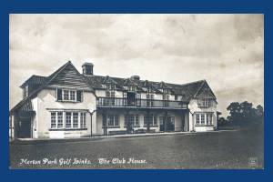 Merton Park Golf Links Clubhouse