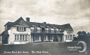 Merton Park Golf Links Clubhouse