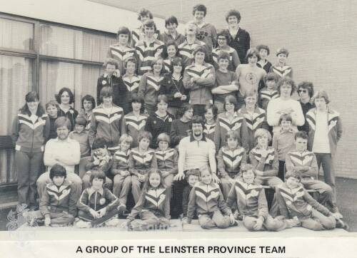 a Group of the Leinster Province Swimming Team