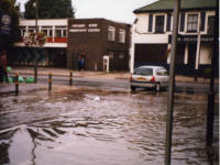 Flooding in Colliers Wood