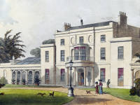 Wimbledon House, the Home of the Marryat family