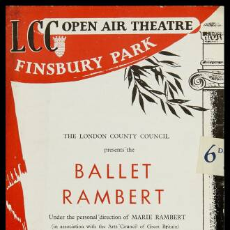Finsbury Park Open Air Theatre, London, August 1949