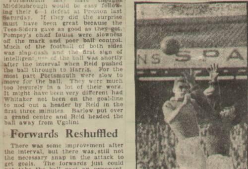 19480908 Evening News Match Report Midddlesbrough