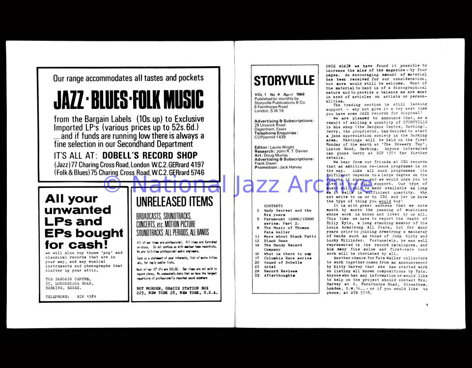 Storyville 004 0001 - National Jazz Archive