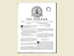 The Radleian 1889 - No.192 July