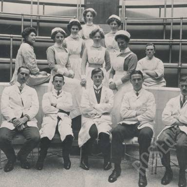 Royal Infirmary Staff, Theatre and Ward Photographs
