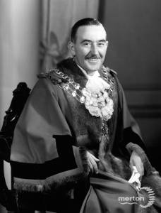 Councillor T.H.Longshaw, Mayor 1956-57
