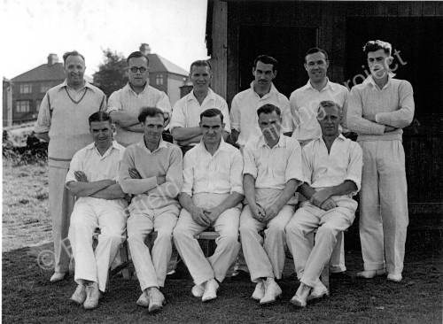 Grenoside Cricket Club Team c 1950