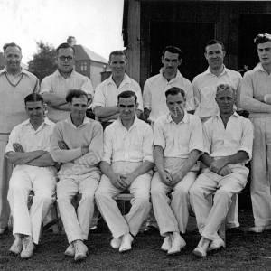 Grenoside Cricket Club Team c 1950