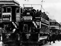 Trams Trams in Merton, the LCC/LUT interchange