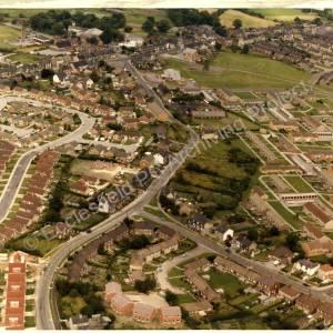 Aerial photo. High Green c1978
