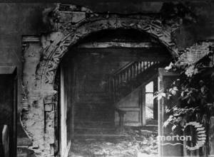 Abbey House: Norman Arch revealed during demolition