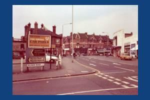 Milner Road: Junction with Morden Road