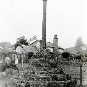 Aymestry, memorial cross