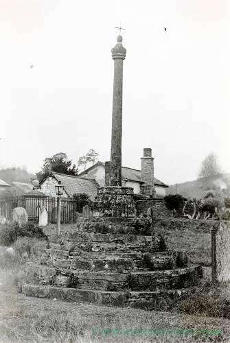 Aymestry, memorial cross