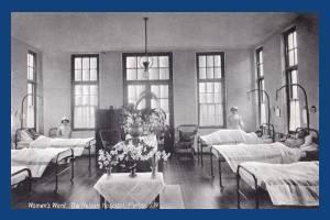 Women's ward, Nelson Hospital, Merton Park