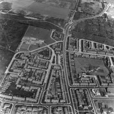 Aerial View of Whiteleas and Temple Park