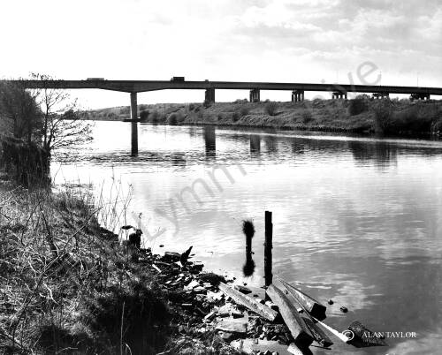 View of the Manchester Ship Canal