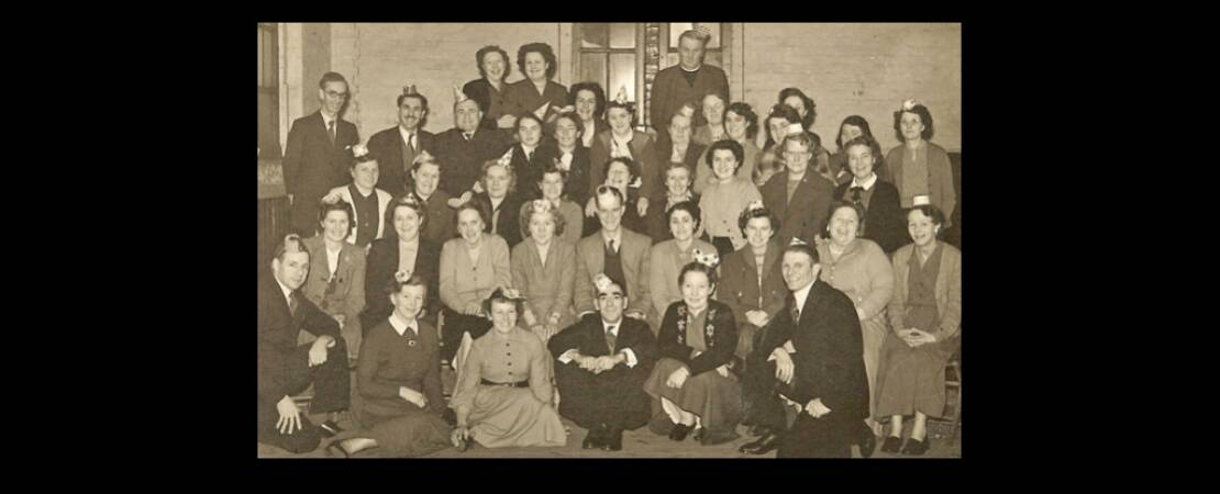 1950's Social in the old School Building