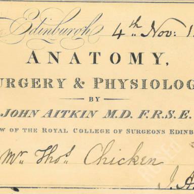 Anatomy, Surgery & Physiology