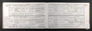 Marriage Certificate - Harold Brewster