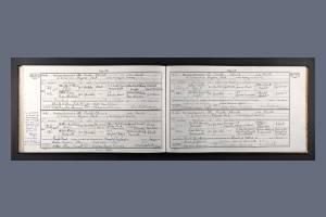 Marriage Certificate - Harold Brewster
