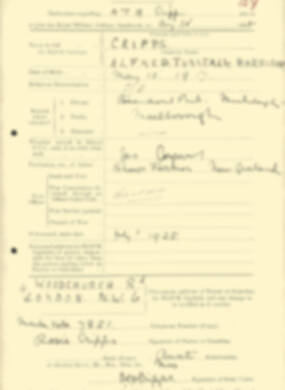 RMC Form 18A Personal Detail Sheets Aug 1935 Intake - page 57