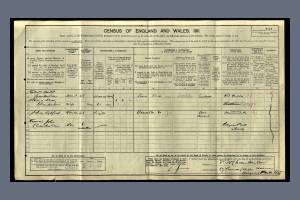 1911 Census for 69 Prince George Avenue , Raynes Park