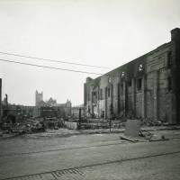 Cunard Stores, Rimrose Road, bomb damage, Blitz