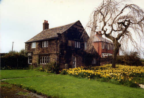018 Rock House, Bank Lane, Upper Denby - the village's oldest house